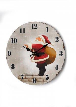Часы настенные bonprix. Цвет: бежевый