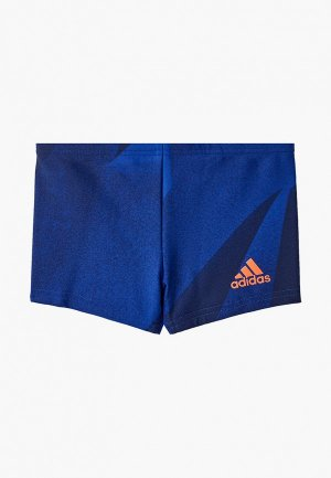 Плавки adidas YA GRPC BOXER. Цвет: синий