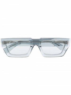 Солнцезащитные очки Manchester Off-White. Цвет: серый