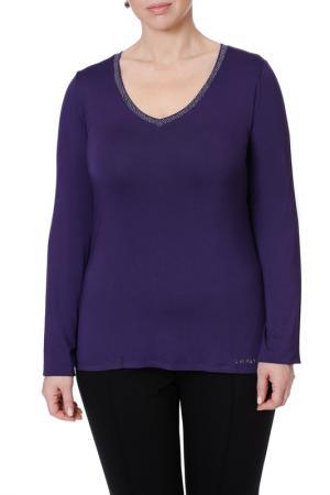 Пуловер LE FATE. Цвет: фиолетовый