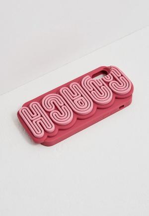 Чехол для iPhone Coach X. Цвет: розовый