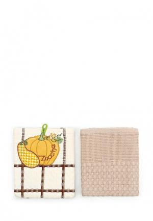Набор полотенец кухонных Sofi De Marko. Цвет: разноцветный