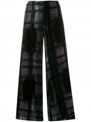 Клетчатые брюки 1990-х годов Romeo Gigli Pre-Owned. Цвет: зеленый