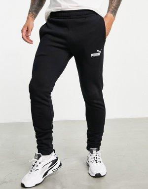 Черные спортивные штаны Clean-Черный цвет Puma