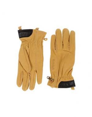 Перчатки TIMBERLAND. Цвет: охра