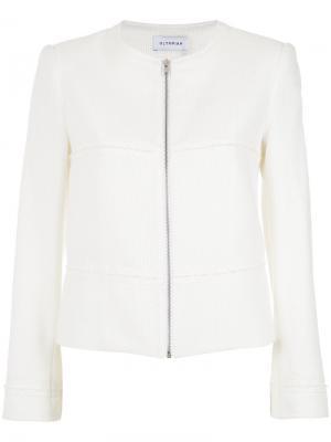 Tweed jacket Olympiah. Цвет: белый