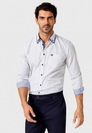 Рубашка Ostin O'stin. Цвет: белый