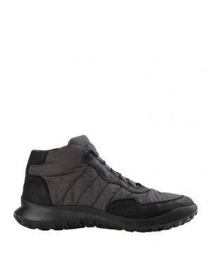 Высокие кеды и кроссовки CAMPER. Цвет: черный