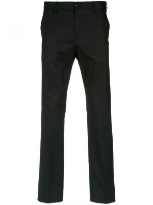 Tailored trousers Dolce & Gabbana. Цвет: черный