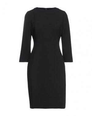 Короткое платье CALVIN KLEIN. Цвет: черный