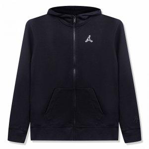 Essentials Full Zip Hoodie Jordan. Цвет: черный