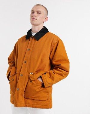 Туристическая куртка желто-коричневого цвета -Светло-коричневый Obey