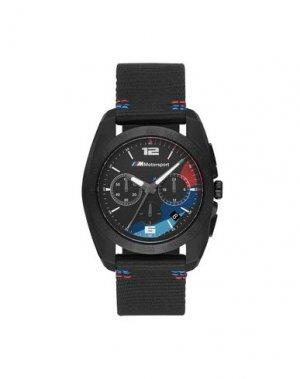 Наручные часы BMW. Цвет: черный