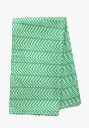 Полотенце кухонное Bonita. Цвет: зеленый