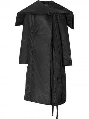 Пальто-кейп Burberry. Цвет: черный