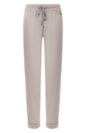 Кашемировые брюки Colombo. Цвет: серый