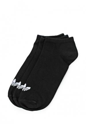 Носки adidas Originals TREFOIL LINER. Цвет: черный