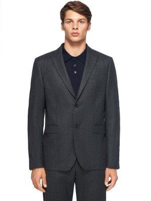 Костюмный пиджак JOSEPH. Цвет: серый