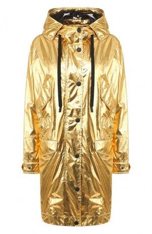 Парка Dolce & Gabbana. Цвет: золотой