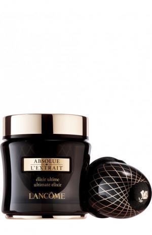 Крем-эликсир со сменным флаконом Absolue LExtrait Lancome. Цвет: бесцветный