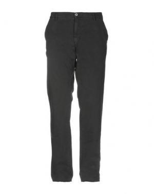 Повседневные брюки EM'S OF MASON'S. Цвет: стальной серый