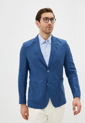 Пиджак Berkytt. Цвет: синий