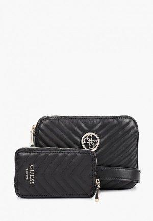 Комплект Guess сумок 2 шт.. Цвет: черный