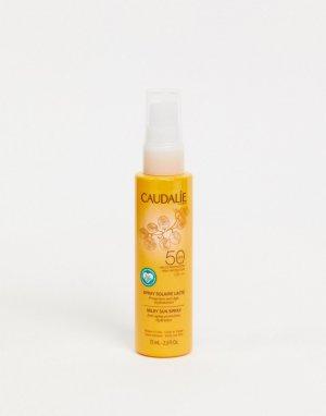 Солнцезащитное молочко-спрей 75 мл c SPF50 -Бесцветный Caudalie
