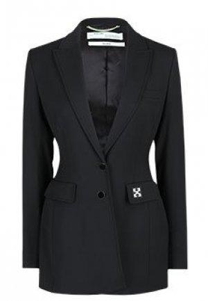 Пиджак OFF-WHITE. Цвет: черный