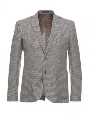 Пиджак EREDI DEL DUCA. Цвет: бежевый
