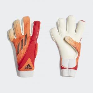 Вратарские перчатки X League Performance adidas. Цвет: красный