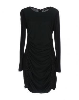 Короткое платье G.SEL. Цвет: темно-зеленый
