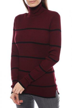 Пуловер Fendi. Цвет: бордовый, черный