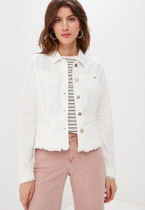Куртка джинсовая Gerry Weber. Цвет: белый