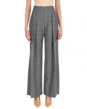 Повседневные брюки PIANURASTUDIO. Цвет: серый