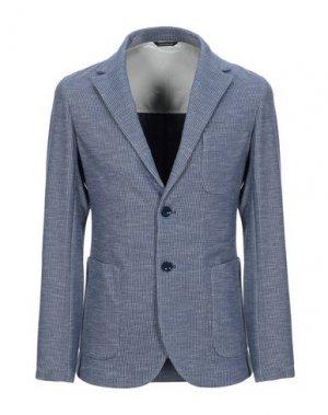 Пиджак GAZZARRINI. Цвет: синий
