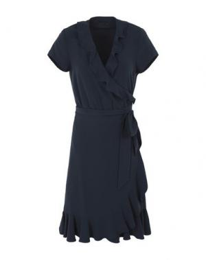 Платье до колена 2ND DAY. Цвет: темно-синий
