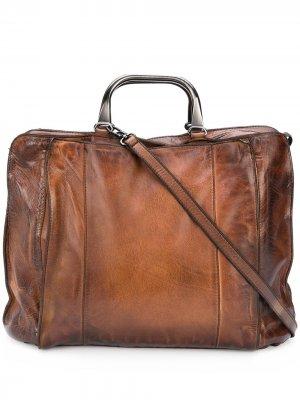 Портфель Big Cassan Numero 10. Цвет: коричневый