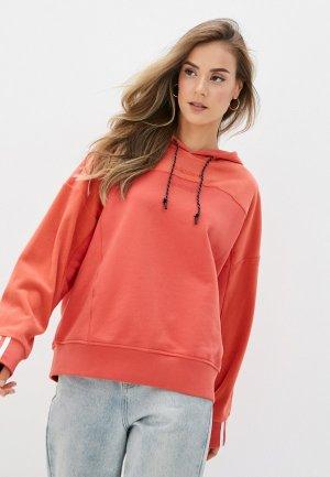Худи adidas Originals HOODIE. Цвет: красный