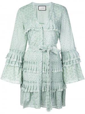 Платье-рубашка Audrea с английской вышивкой Alexis