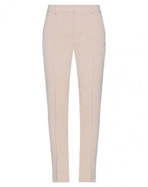 Повседневные брюки AKRIS PUNTO. Цвет: песочный