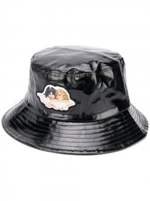 Angel vinyl bucket hat Fiorucci. Цвет: черный