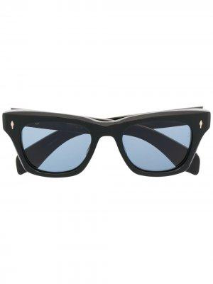 Солнцезащитные очки Dealan Jacques Marie Mage. Цвет: черный