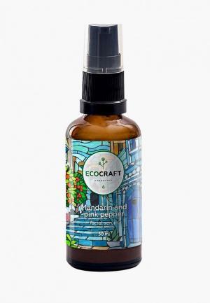 Сыворотка для лица Ecocraft с лифтинг-эффектом витаминами Е, и г. Цвет: белый