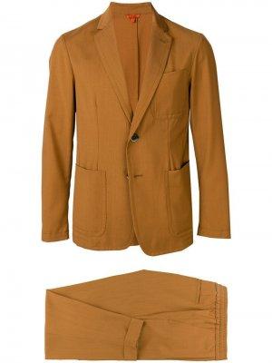 Строгий костюм-двойка Barena. Цвет: коричневый