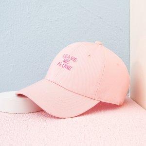Мужской Бейсболка текстовый вышивкой SHEIN. Цвет: нежний розовый