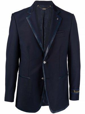 Пиджак строгого кроя Billionaire. Цвет: синий