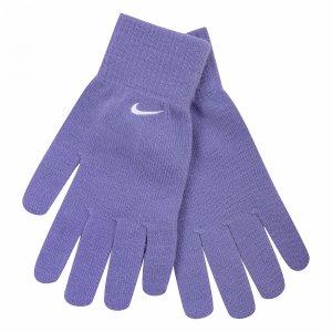 Knitted Gloves Nike. Цвет: фиолетовый