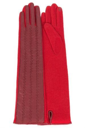Перчатки Dali Exclusive. Цвет: темно-красный, гренадин