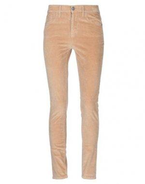 Повседневные брюки CURRENT/ELLIOTT. Цвет: верблюжий